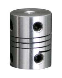 DR-10X10-D20L25 COPLE FLEXIBLE ALUMINIO D1 10MM, D2 10MM.