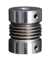 DB-8X8-D20L25: COPLE FLEXIBLE ALUMINIO D1 8MM, D2 8MM.