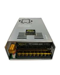 TP-V480-220 FUENTE VARIABLE 480W/2A, 0-220VCD VOLT. ENTRADA, 100-120V/200-240V, C/DISPLAY INDICADOR