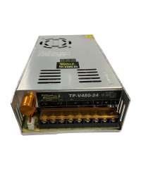 TP-V480-24 FUENTE VARIABLE 480W/20A, 0-24VCD VOLT. ENTRADA, 100-120V/200-240V, C/DISPLAY INDICADOR