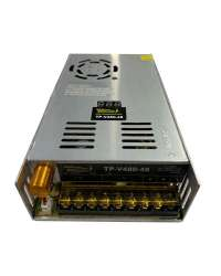 TP-V480-48 FUENTE VARIABLE 480W/10A, 0-48VCD VOLT. ENTRADA, 100-120V/200-240V, C/DISPLAY INDICADOR