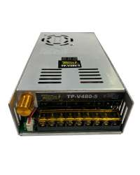 TP-V480-5 FUENTE VARIABLE 480W/96A, 0-5VCD VOLT. ENTRADA, 100-120V/200-240V, C/DISPLAY INDICADOR