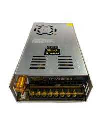 TP-V480-60 FUENTE VARIABLE 480W/8A, 0-60VCD VOLT. ENTRADA, 100-120V/200-240V, C/DISPLAY INDICADOR